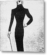 Max Beerbohm (1872-1956) Metal Print