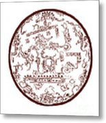 Mayan Cosmos Metal Print by Science Source