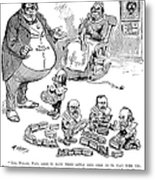 Mckinley Cartoon, 1900 Metal Print