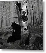 Me And Mommy Metal Print
