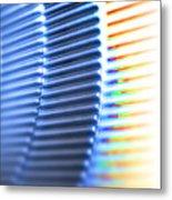 Mechanical Gears Metal Print by Pasieka
