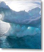 Melting Arctic Sea Ice, Canada Metal Print