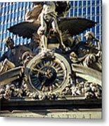 Mercury At Grand Central Metal Print