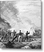 Mexican War: Palo Alto Metal Print