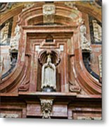 Mezquita Cathedral Architectural Details Metal Print