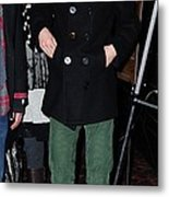 Michael Cera At Arrivals For Youth In Metal Print