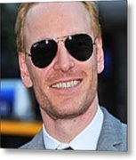 Michael Fassbender At Arrivals Metal Print by Everett