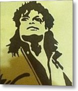 Michael Jackson Metal Print by Damian Howell