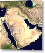 Middle East Metal Print