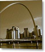 Millenium Bridge Metal Print