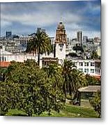 Mission Dolores Park Metal Print