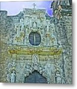 Mission San Jose San Antonio Metal Print