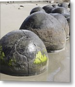 Moeraki Boulders, Koekohe Beach, New Metal Print