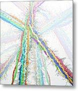 Molecular Collisions Metal Print