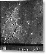 Moon: Ranger 7, 1964 Metal Print