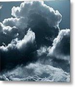 Moonlit Clouds Metal Print by Detlev Van Ravenswaay