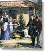 Mormon Wives, 1875 Metal Print