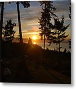 Morning Sky Metal Print