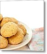 Moroccan Biscuits Metal Print