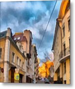 Moscow's Streets Metal Print