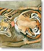 Mother's Love Metal Print by Delores Swanson