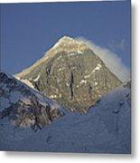 Mount Everest Standing At 29,028 Feet Metal Print