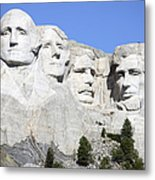 Mount Rushmore National Memorial, South Metal Print