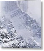 Mt. Chephren, Banff National Park Metal Print