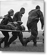 Multinational Medical Personnel Race Metal Print