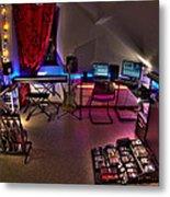 Music Studio Metal Print