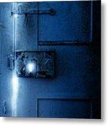 Mysterious Door Metal Print