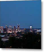 Nashville By Night 1 Metal Print