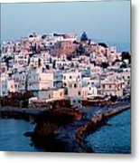 Naxos Island Greece Metal Print