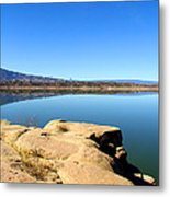 New Mexico Series - Abiquiu Lake Metal Print