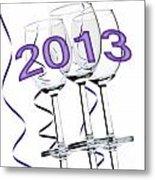 New Year 2013 Metal Print