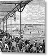 New York: Baseball, 1886 Metal Print