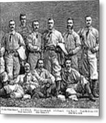 New York Baseball Team Metal Print