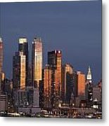New York City, New York, United States Metal Print