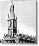 New York: Trinity Church Metal Print