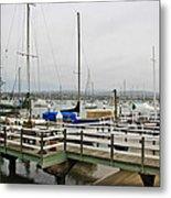 Newport Bay And Balboa Island Metal Print