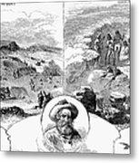 Nez Perce Campaign, 1877 Metal Print by Granger