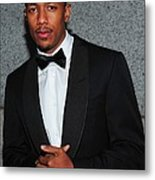 Nick Cannon At Arrivals For Operation Metal Print