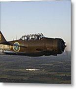 North American T-6 Texan Trainer Metal Print