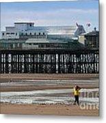 North Pier Metal Print