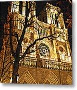 Notre Dame De Paris Metal Print by Elena Elisseeva