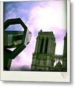 Notre Dame De Paris. France Metal Print