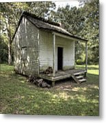 Oakley Plantation Slaves Quarters Metal Print