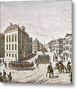 Occupied New York, 1776 Metal Print