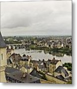 old French town  Metal Print