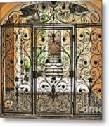 Old Gate Metal Print